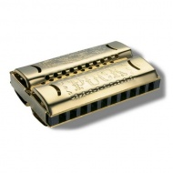 Губная гармошка HOHNER M55333 Double Side Puck C/G