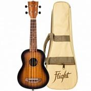 Укулеле сопрано Flight NUS 380 amber